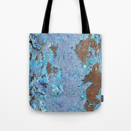 Blue rust Tote Bag