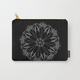 Flower Lace Carry-All Pouch
