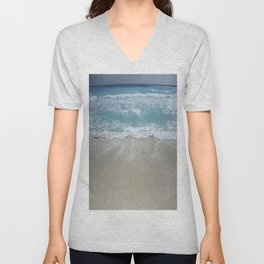 Carribean sea 5 Unisex V-Neck