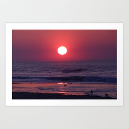 South Carolina Sunrise Art Print