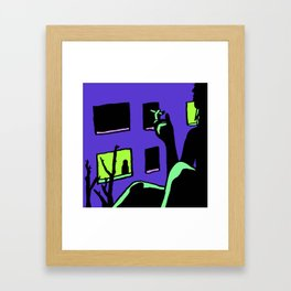 My Violent Heart Framed Art Print