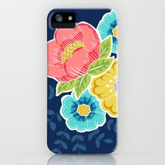 Floral Beauty - Midnight iPhone (5, 5s) Slim Case