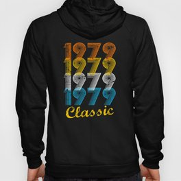 38th Birthday Gift Vintage 1979 T-Shirt for Men & Women T-Shirts and Hoodies Hoody