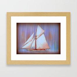 Ghost Sails Framed Art Print