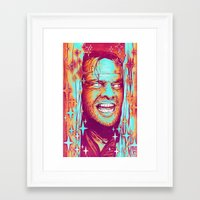 shining Framed Art Prints featuring Shining by Retkikosmos