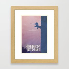 The Hunchback Framed Art Print