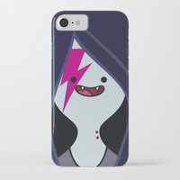 marceline iPhone & iPod Cases featuring Marceline Stardust by lapinette