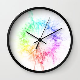 A-maze-ing Color Wheel Wall Clock