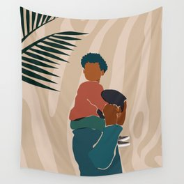 Black Dads Matter Wall Tapestry