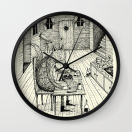 'Cold Soup' Wall Clock