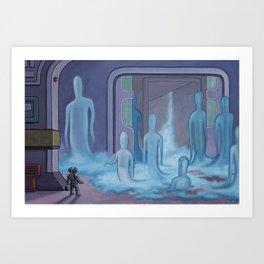 The Hollow Art Print