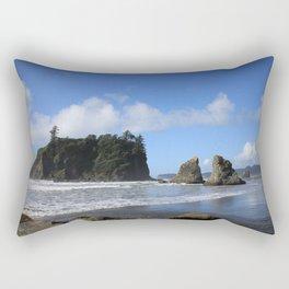 Sea Stacks Rectangular Pillow