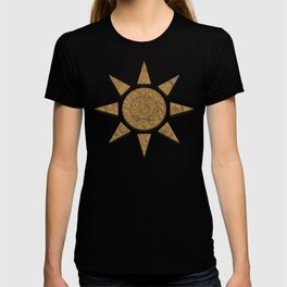 Gold Etching T-shirt