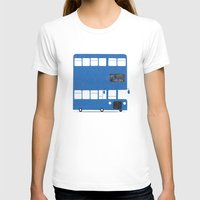 chelsea T-shirts featuring Chelsea bus by Alberto Faria