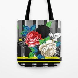 Chintz Rose Tote Bag