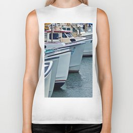 Fishing Boats Biker Tank