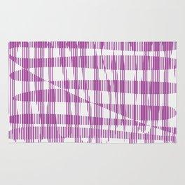Purple/Violet Pattern Rug