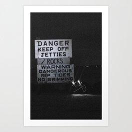 Experiment Art Print