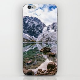 Colchuck Lake Mountain Hiking Adventure iPhone Skin