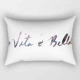 La vita è bella - Life Is Beautiful Rectangular Pillow