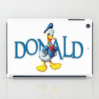 donald duck iPad Cases featuring Donald Duck by Maxvision