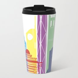 RiyadhV2 skyline pop Travel Mug