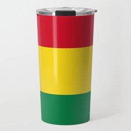 Flag of bolivia-bolivian,spanish,america,south america,latin america,coffee,Santa cruz,Sucre,La paz Travel Mug
