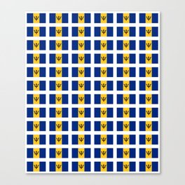 flag of Barbade-barbade,bajan,Barbadian,Bridgetown,barbados. Canvas Print