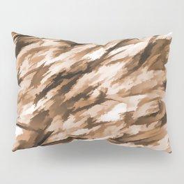 Beige Designer Camo Pillow Sham