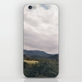 Cypress mountains and forests iPhone Skin