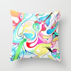 Pattex Throw Pillow