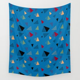 Flying Pyramids Wall Tapestry