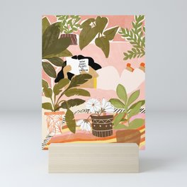 How Many Plants Is Enough Plants? Mini Art Print