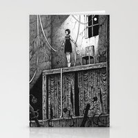 theatre Stationery Cards featuring Puppet Theatre by Michael Brack