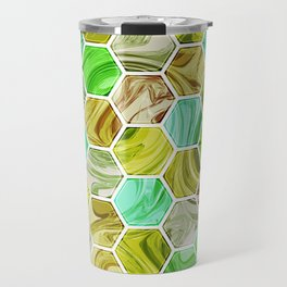 Marble Hive Botanical Travel Mug