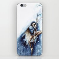 jack frost iPhone & iPod Skins featuring Jack Frost by Ines92