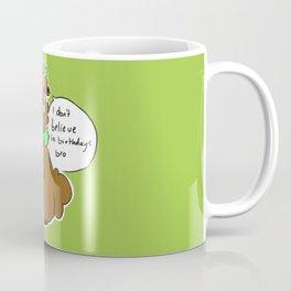 Bidoof Hipster Coffee Mug