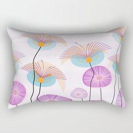 Weird Blooms Rectangular Pillow