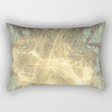 Kaos theory mandala Rectangular Pillow
