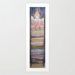Princess on the Pea Art Print