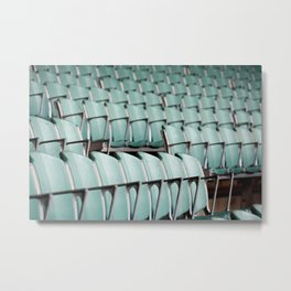 Chairs & bleachers Metal Print
