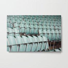 Chairs & bleachers Metal Print