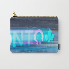 Toronto Nights and Winter Life Carry-All Pouch