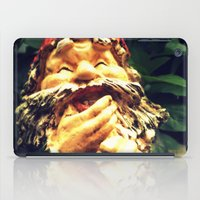 gnome iPad Cases featuring Laughing Gnome by Austin D.