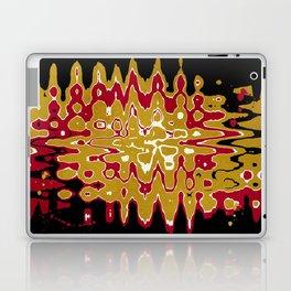 Black Gold Abstract Laptop & iPad Skin