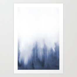 Watercolor abstraction Art Print