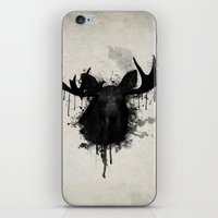 moose iPhone & iPod Skins featuring Moose by Nicklas Gustafsson