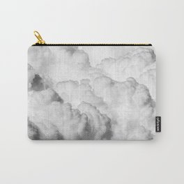 White Clouds Carry-All Pouch