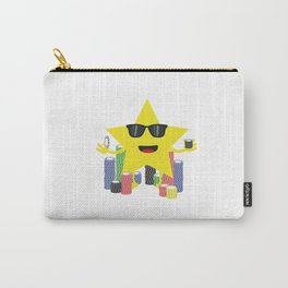 lucky star with poker chips Carry-All Pouch