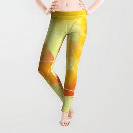 Burned Geometrics Leggings